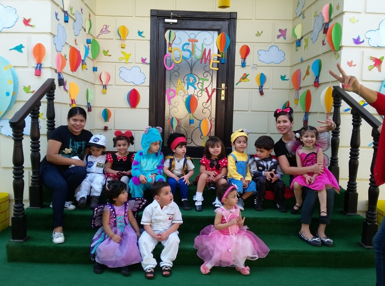 peekaboo nursery in Qatar