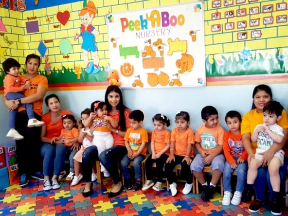 peekaboo nursery in Qatar